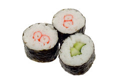 Rolos do sushi Foto de Stock Royalty Free