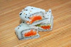 Rolos do sushi Imagens de Stock Royalty Free