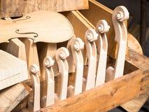 Rolos do violino imagens de stock royalty free