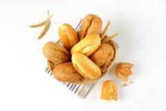 Rolos e bolos de pão Foto de Stock