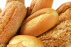 Rolos e bolos de pão Fotografia de Stock Royalty Free