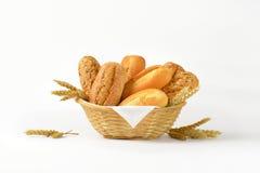 Rolos e bolos de pão Imagens de Stock