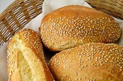 Rolos produzidos do trigo de trigo duro Imagem de Stock