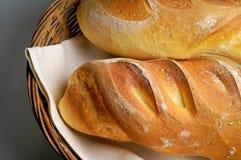 Rolos produzidos do trigo de trigo duro Fotografia de Stock
