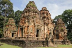Rolous Group Preah Ko 1444 Royalty Free Stock Photos