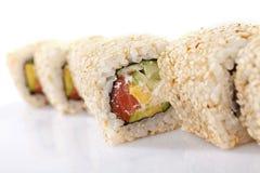 Rols do sushi Imagens de Stock
