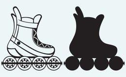 Rolschaats Stock Afbeeldingen
