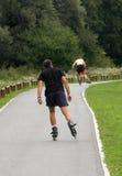 Rolschaatsen Stock Afbeeldingen