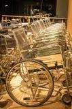 rolstoelen Royalty-vrije Stock Foto