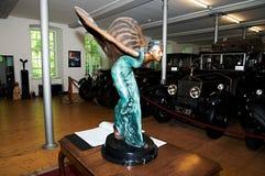 Rolt royce museum Dornbirn - de autoembleem van Royce van Broodjes Stock Foto's