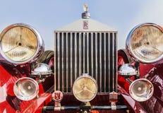 Rolt Royce Phantom 1 Sportzaal, het model van 1926, 3127 cylind van CC 6 Royalty-vrije Stock Afbeeldingen