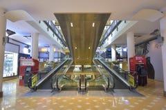 Roltrapbinnenland in Alamanda Shopping Mall-putrajaya Royalty-vrije Stock Fotografie