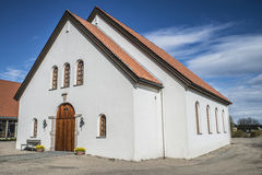 Rolvsøy Church (the Chapel) (2) Stock Image