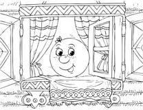 Roly-Polivinílico (carácter del cuento del cuarto de niños) Foto de archivo