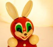 Roly Poly Bunny som ler som lycklig kamrat Arkivbilder