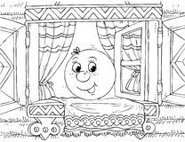 Roly-Poly (nursery tale character) Stock Photo