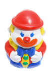 Roly-Poly Toy Clown. On White Background Royalty Free Stock Photo