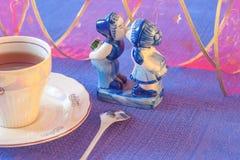 Romántico azul Imagen de archivo