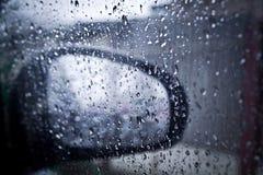 Romántico lluvioso foto de archivo libre de regalías
