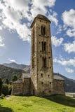 ½ românico Engolasters do ¿ do dï de Sant Miquel da igreja, Andorra imagens de stock royalty free