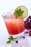 Romã Mojito - a maioria de série popular dos cocktail imagem de stock
