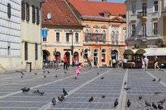 Roménia - Brasov Imagens de Stock Royalty Free