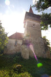 Romênia - igreja reformada Pesteana Fotos de Stock Royalty Free