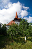 Romênia - igreja reformada Pesteana Fotografia de Stock