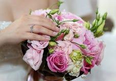 ROM: Anello della sposa Fotografie Stock Libere da Diritti