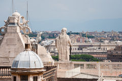 Rom-Ansicht stockfotografie
