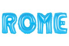 Rom, blaue Farbe Lizenzfreies Stockfoto