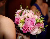 ROM: Bride's Roses Royalty Free Stock Image