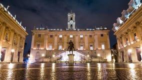 Rom Capitoline Timelapse stock footage