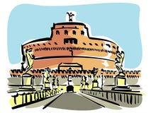 Rom (Castel S.Angelo) Lizenzfreie Stockbilder