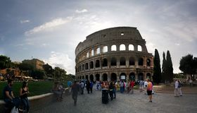 Rom - colosseum Stockfotos