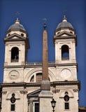 ROM d'obélisque d'opérations d'Espagnol d'église Photo libre de droits