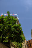 Rom-Dachterrasse Lizenzfreie Stockfotografie