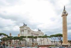 rom Das Monument ist der ` Altar des Vaterlands ` Stockfoto