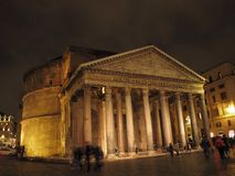 Rom der Pantheon stockbilder