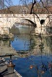 Rom, der Tiber Stockfotos
