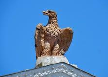 Rom - Eagle des Landhauses Borghese Stockbild