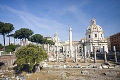 Rom: ein Bild von Kaiserlöchern Lizenzfreies Stockbild