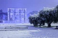 Rom: ein Bild von Kaiserlöchern Stockfotografie