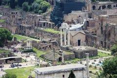 Rom: ein Bild von Kaiserlöchern Stockbilder