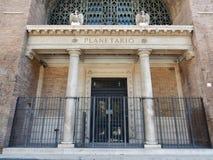 Rom - Eingang zum Planetarium Stockfoto
