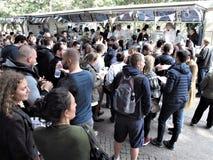 Rom-Eiscremefestival stockfoto