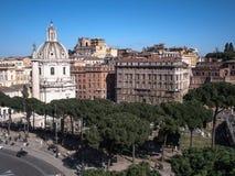 Rom ganz herum lizenzfreie stockfotografie