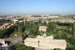 Rom, Garten Stockbild