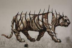 Rom-Graffiti lizenzfreie stockbilder