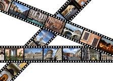 Rom-Grenzsteine Stockfotografie